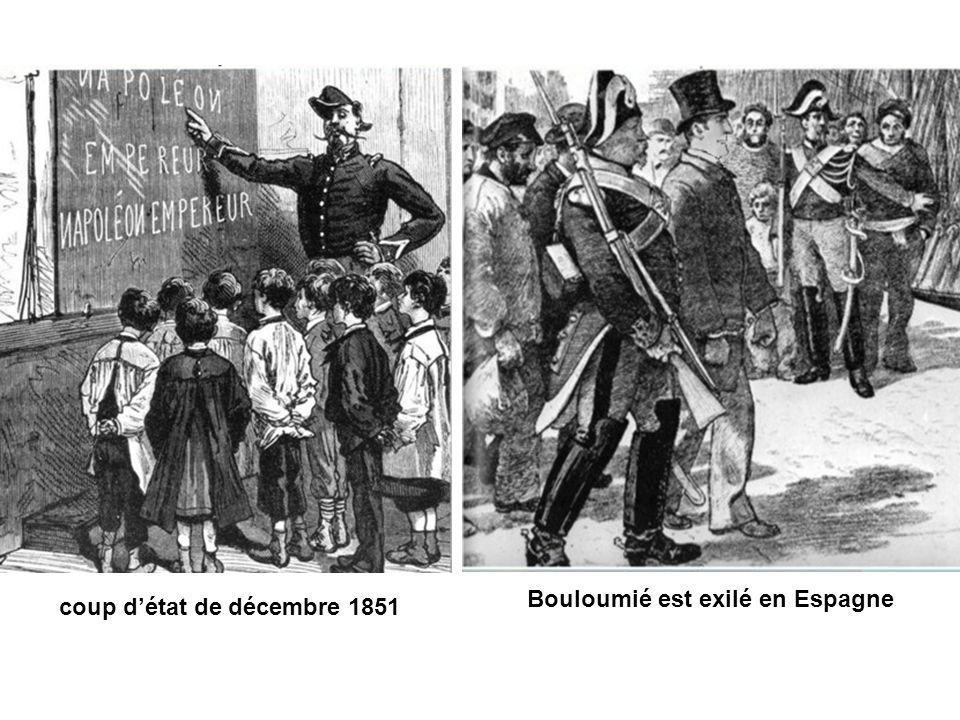 Bouloumié est exilé en Espagne