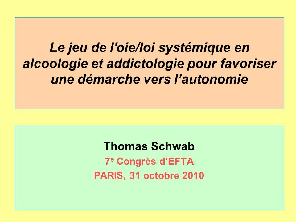 Thomas Schwab 7e Congrès d'EFTA PARIS, 31 octobre 2010