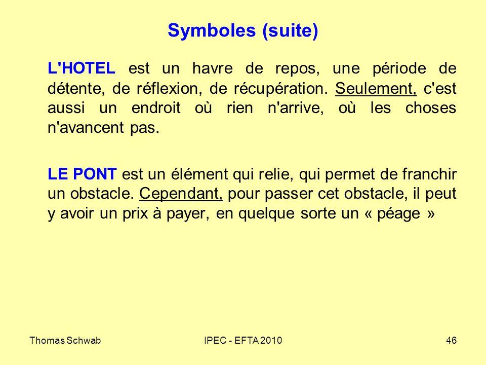 Symboles (suite)