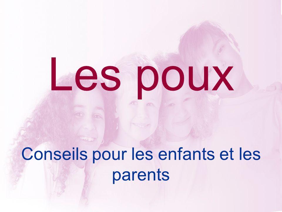 Conseils pour les enfants et les parents