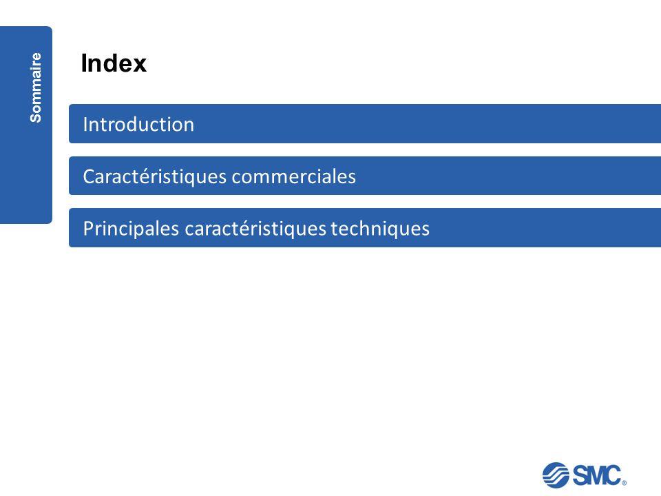 Index Introduction Caractéristiques commerciales