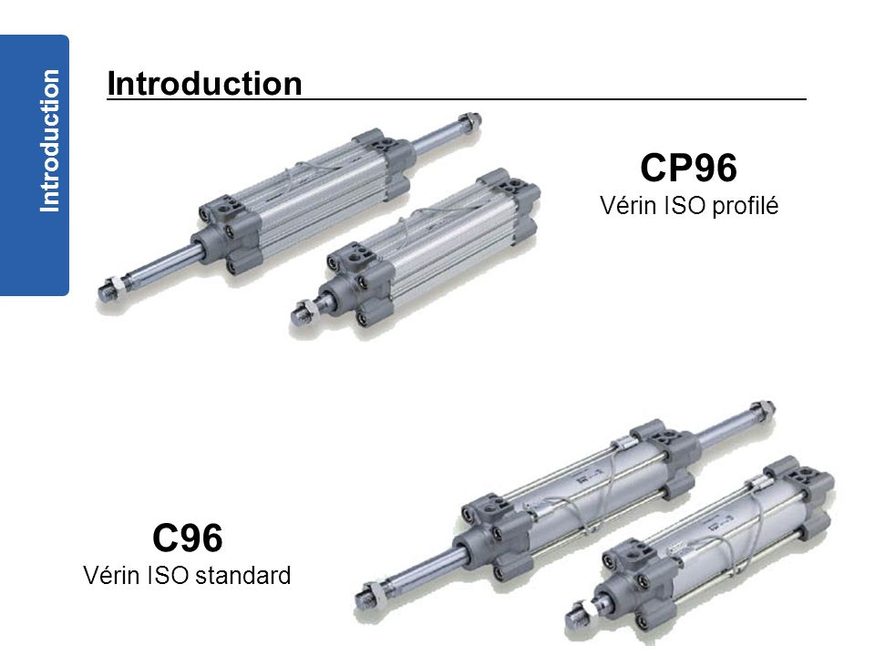 CP96 C96 Introduction Introduction Vérin ISO profilé
