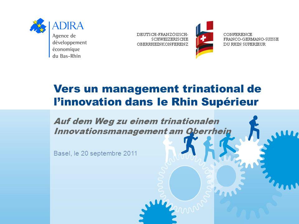 Vers un management trinational de l'innovation dans le Rhin Supérieur