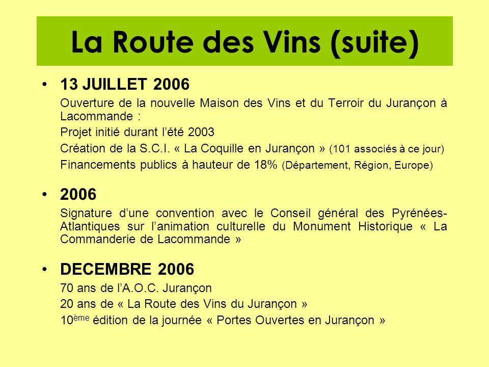 La Route des Vins (suite)