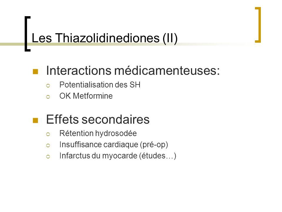 Les Thiazolidinediones (II)