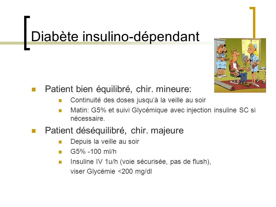 Diabète insulino-dépendant