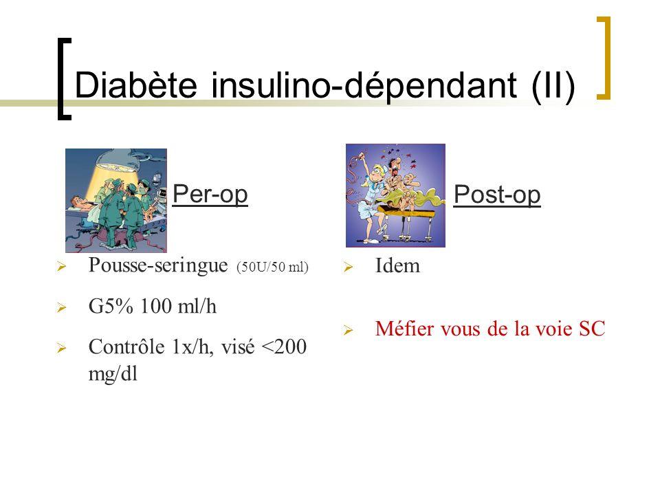 Diabète insulino-dépendant (II)