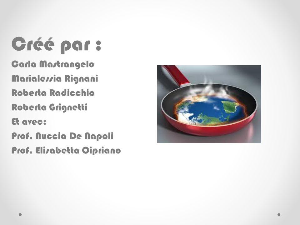 Créé par : Carla Mastrangelo Marialessia Rignani Roberta Radicchio