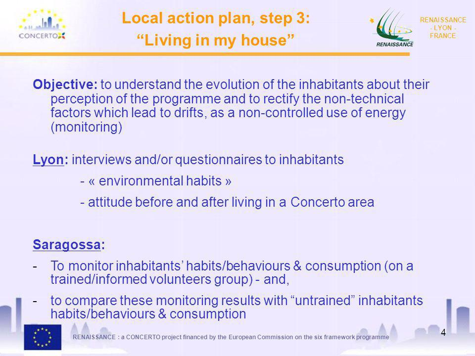 Local action plan, step 3: