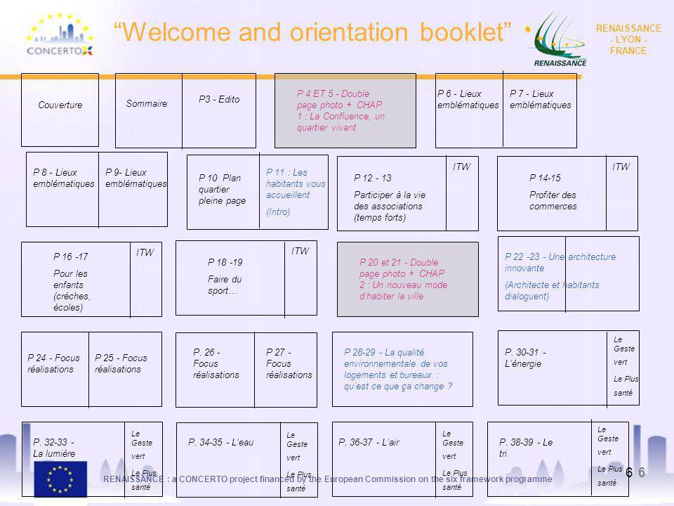 Welcome and orientation booklet