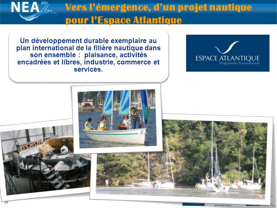 Vers l'émergence, d'un projet nautique pour l'Espace Atlantique