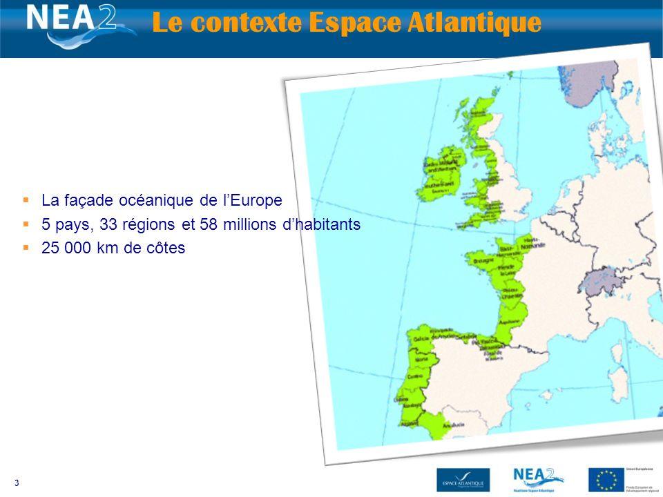 Le contexte Espace Atlantique