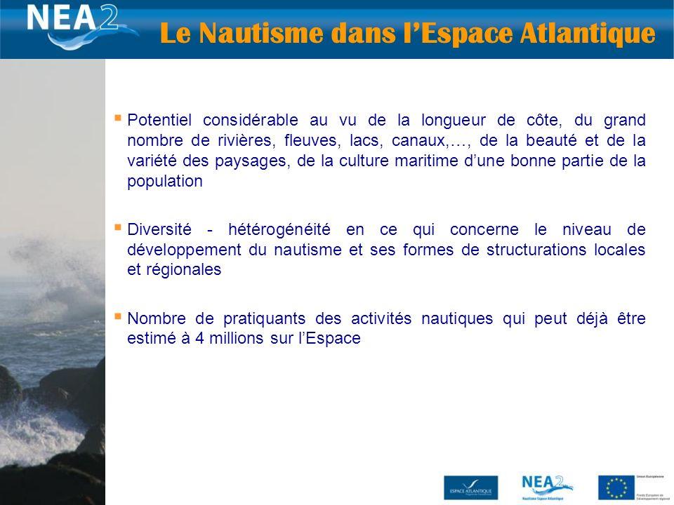 Le Nautisme dans l'Espace Atlantique