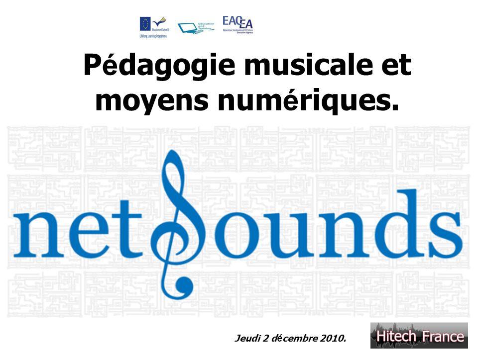 Pédagogie musicale et moyens numériques.