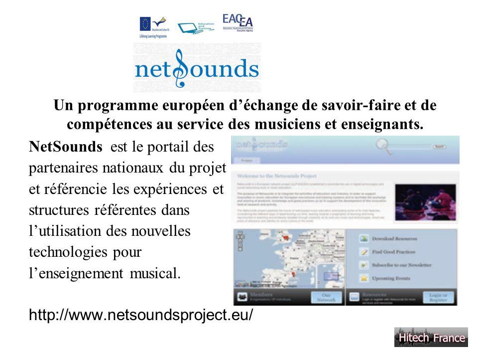 Un programme européen d'échange de savoir-faire et de compétences au service des musiciens et enseignants.
