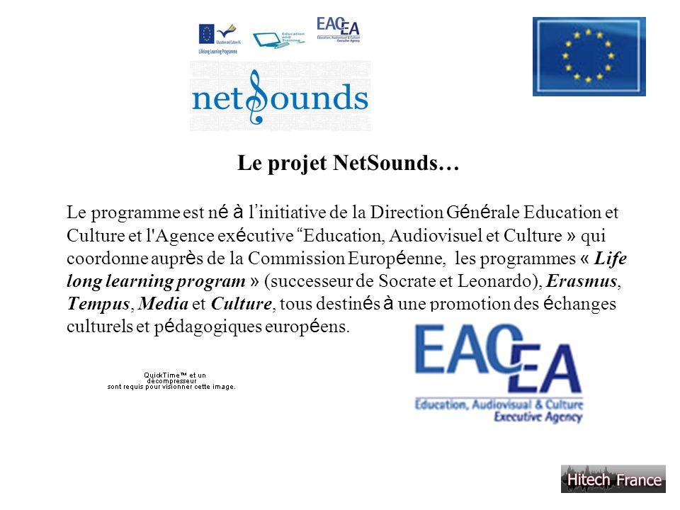 Le projet NetSounds…