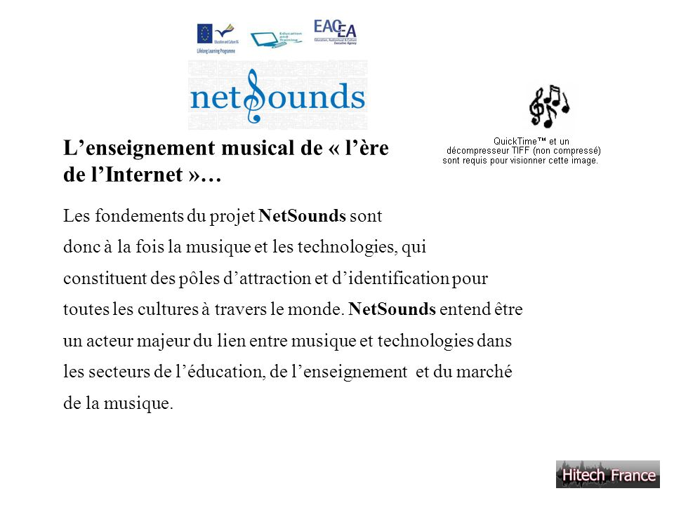 L'enseignement musical de « l'ère de l'Internet »…