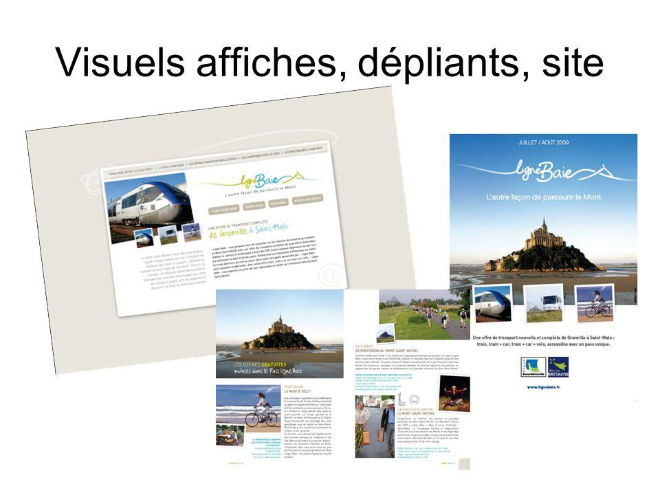 Visuels affiches, dépliants, site