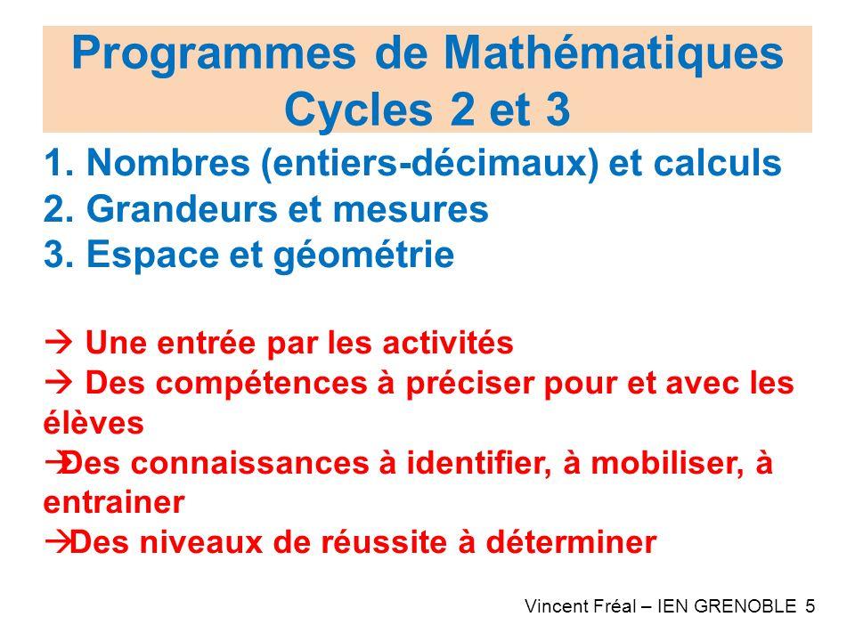 cycles 2 et 3 nombres  entiers-d u00e9cimaux  et calculs