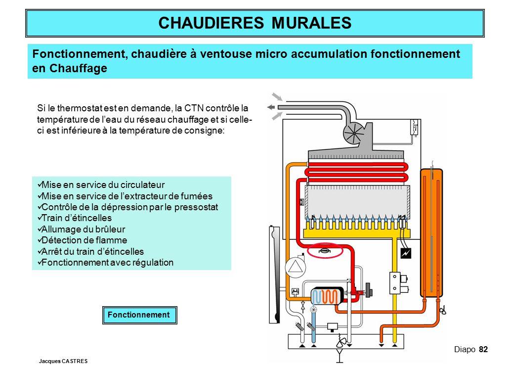 Fonctionnement, chaudière à ventouse micro accumulation fonctionnement en Chauffage