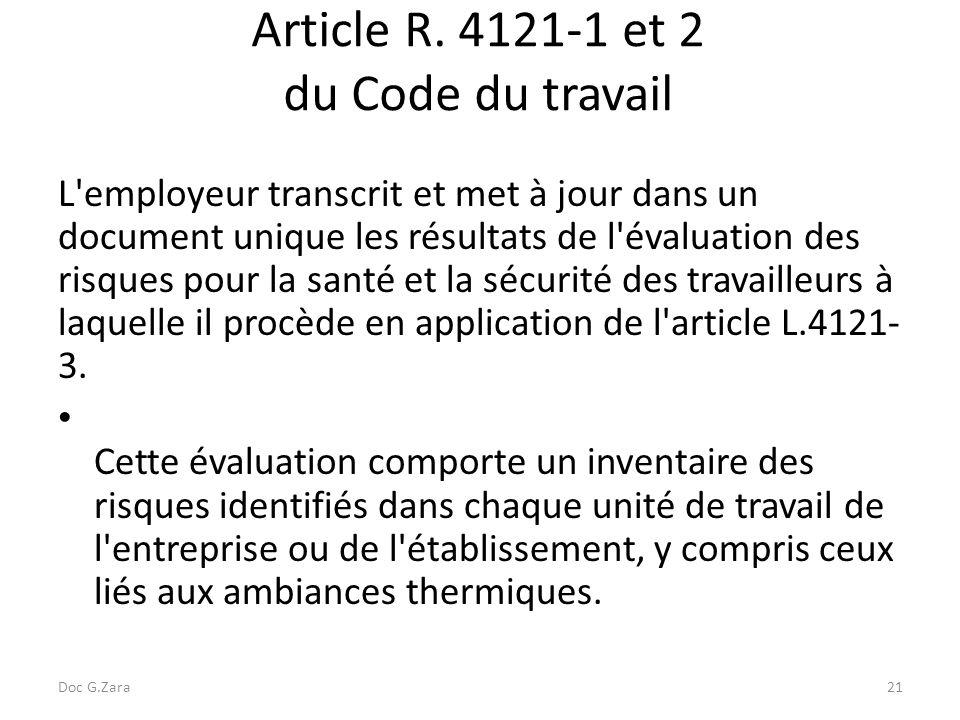 Le document unique d'évaluation des risques (DUER) - ppt ...