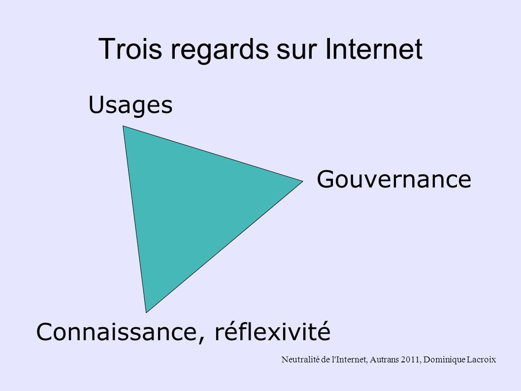 Trois regards sur Internet