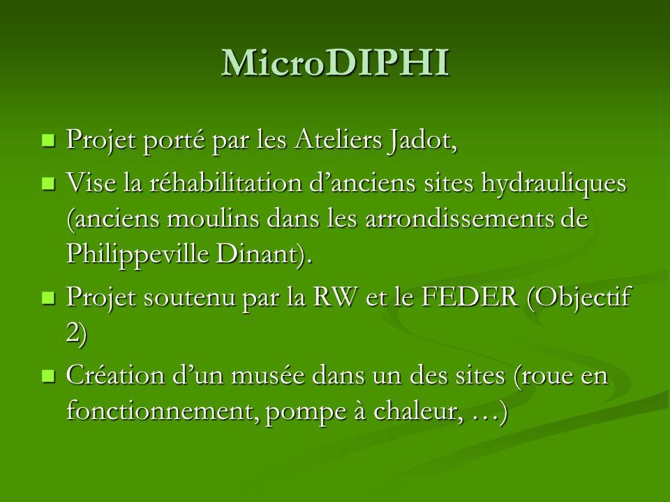 MicroDIPHI Projet porté par les Ateliers Jadot,
