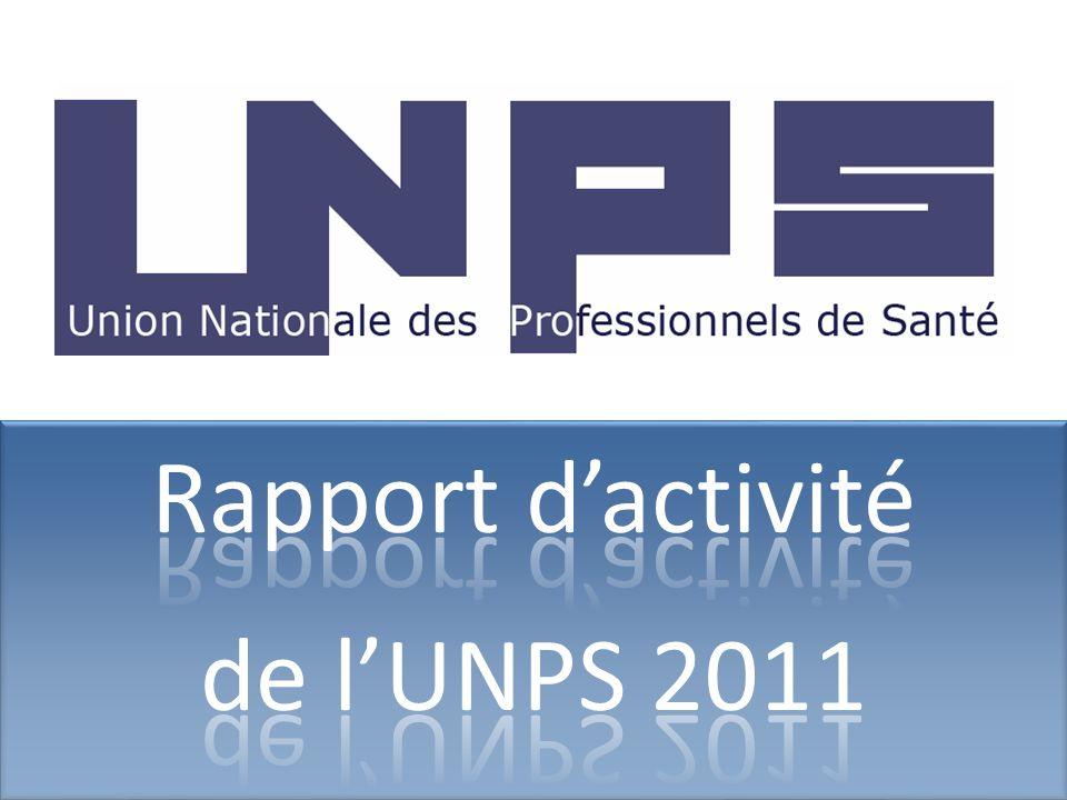Rapport d'activité de l'UNPS 2011 08/07/2010