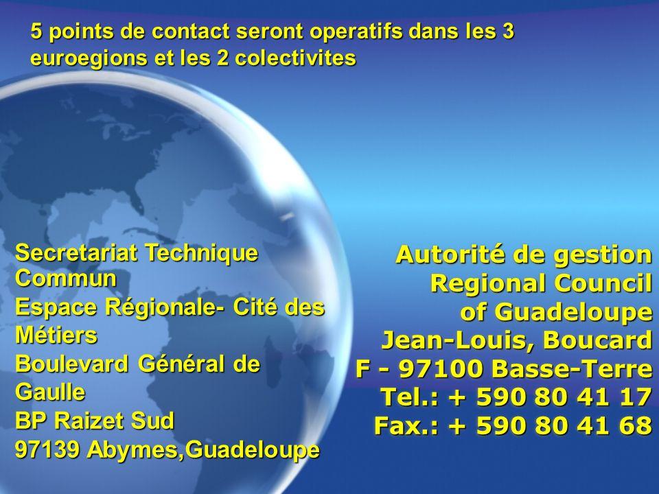Secretariat Technique Commun Espace Régionale- Cité des Métiers