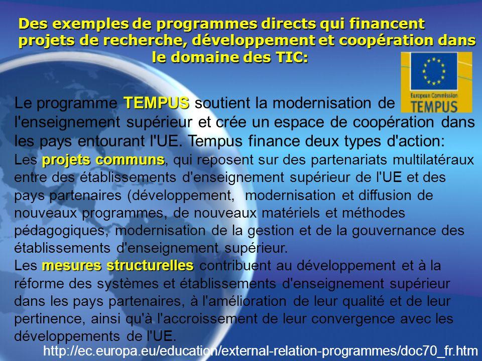 Le programme TEMPUS soutient la modernisation de