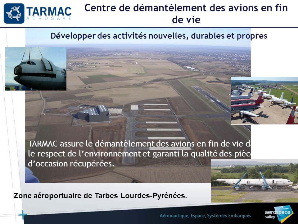 Centre de démantèlement des avions en fin de vie