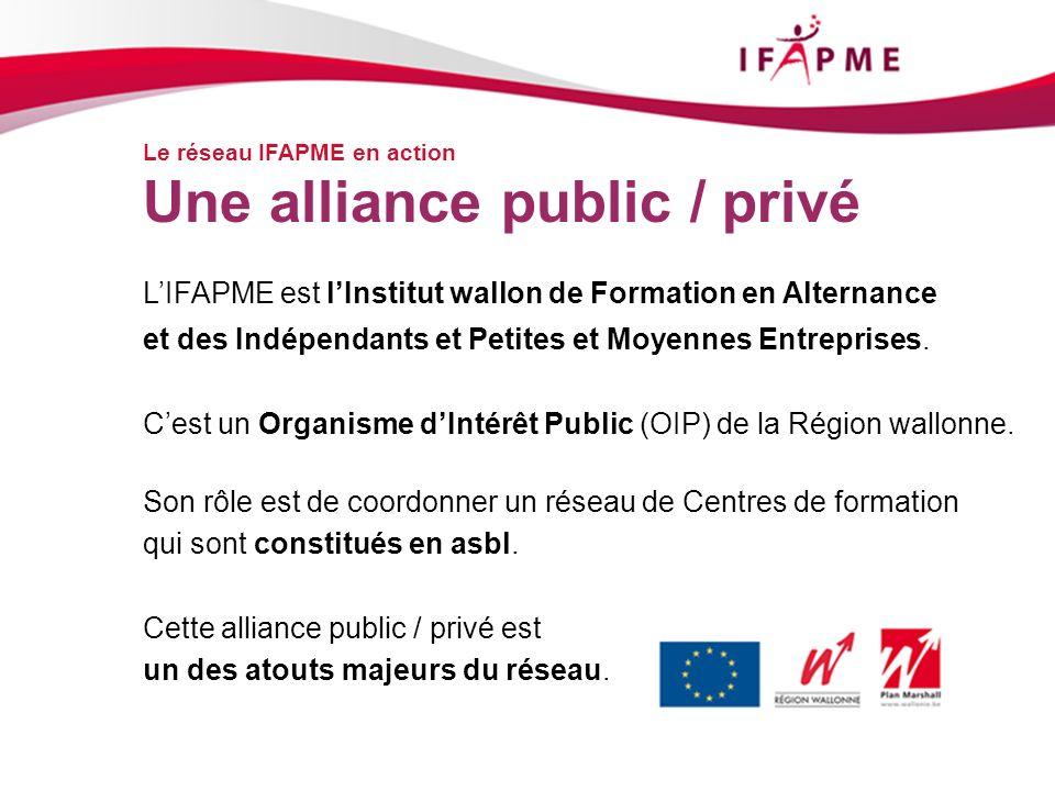 Une alliance public / privé