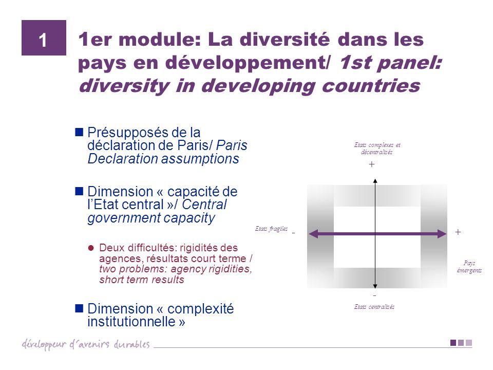 Etats complexes et décentralisés