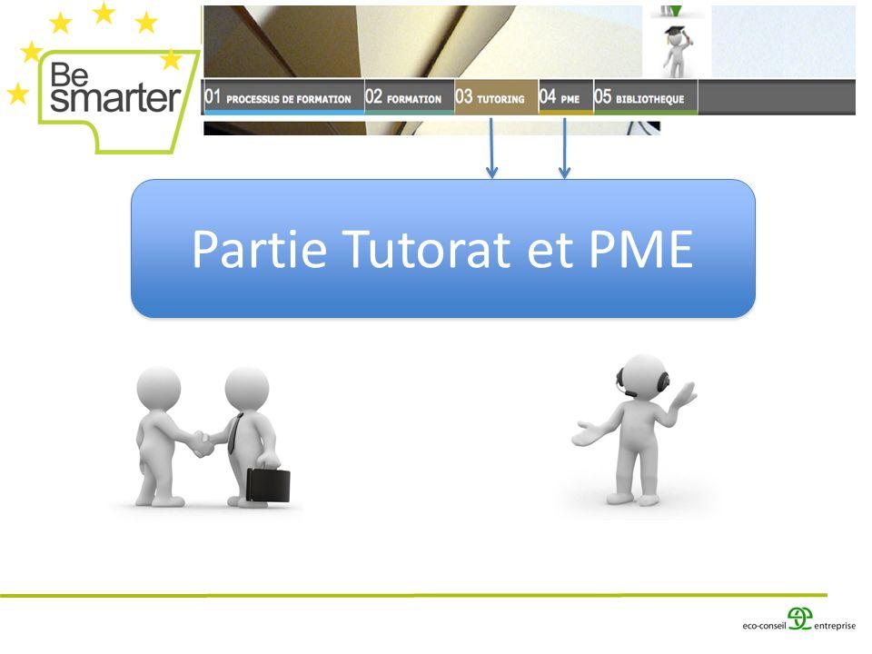 Partie Tutorat et PME