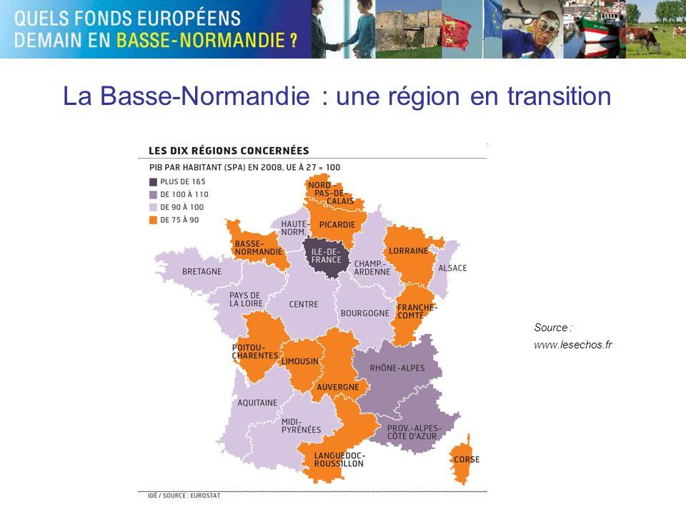 La Basse-Normandie : une région en transition