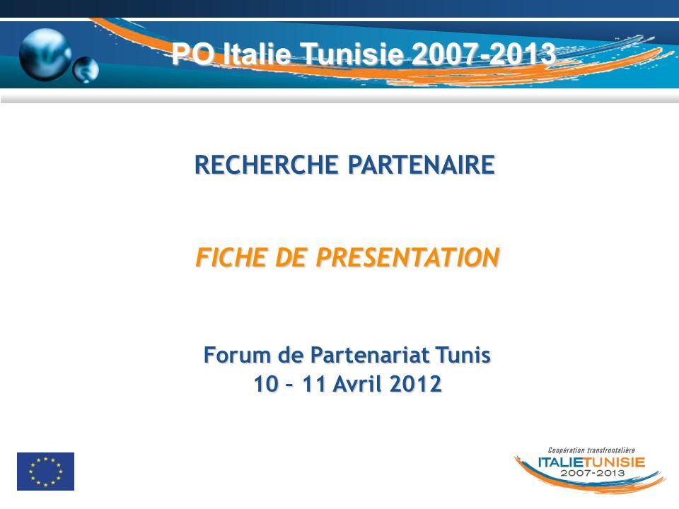 Forum de Partenariat Tunis