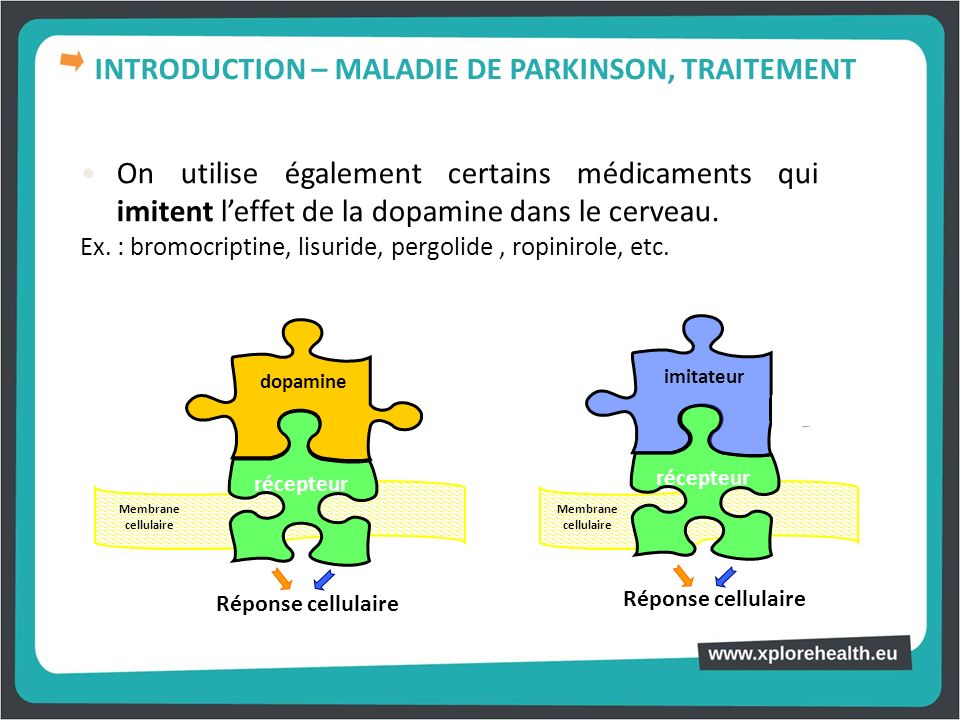 INTRODUCTION – MALADIE DE PARKINSON, TRAITEMENT