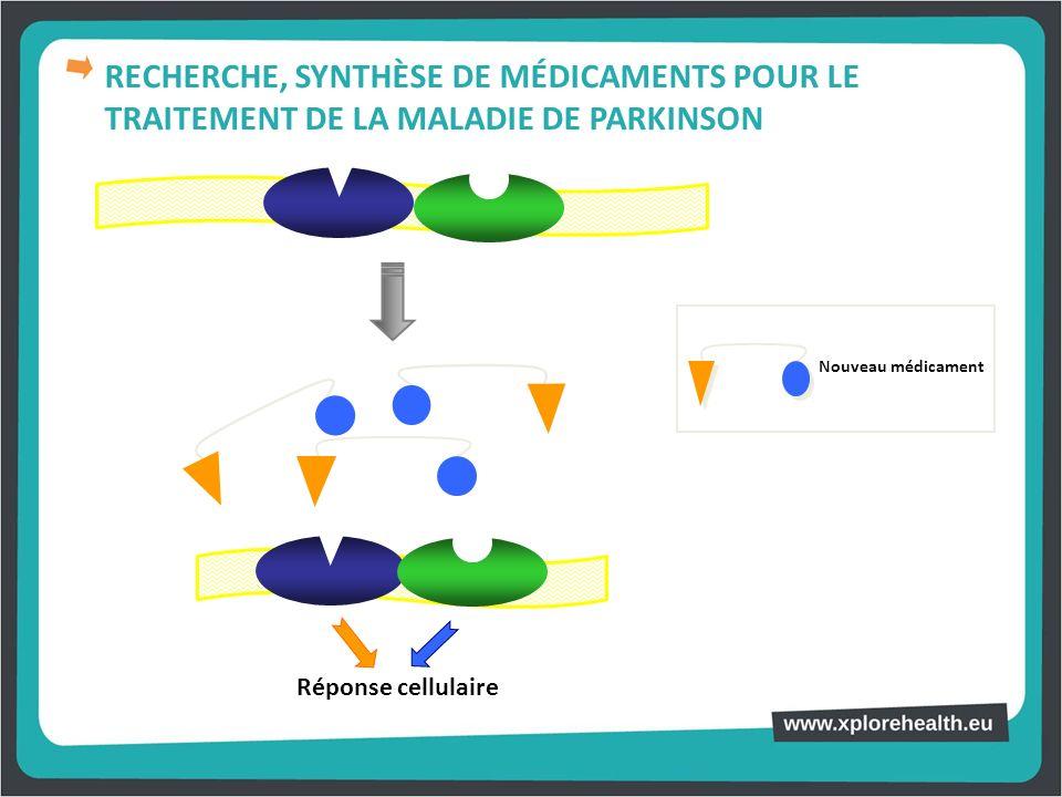 RECHERCHE, SYNTHÈSE DE MÉDICAMENTS POUR LE TRAITEMENT DE LA MALADIE DE PARKINSON