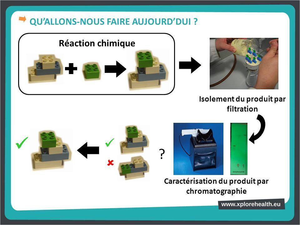    QU'ALLONS-NOUS FAIRE AUJOURD'DUI Réaction chimique