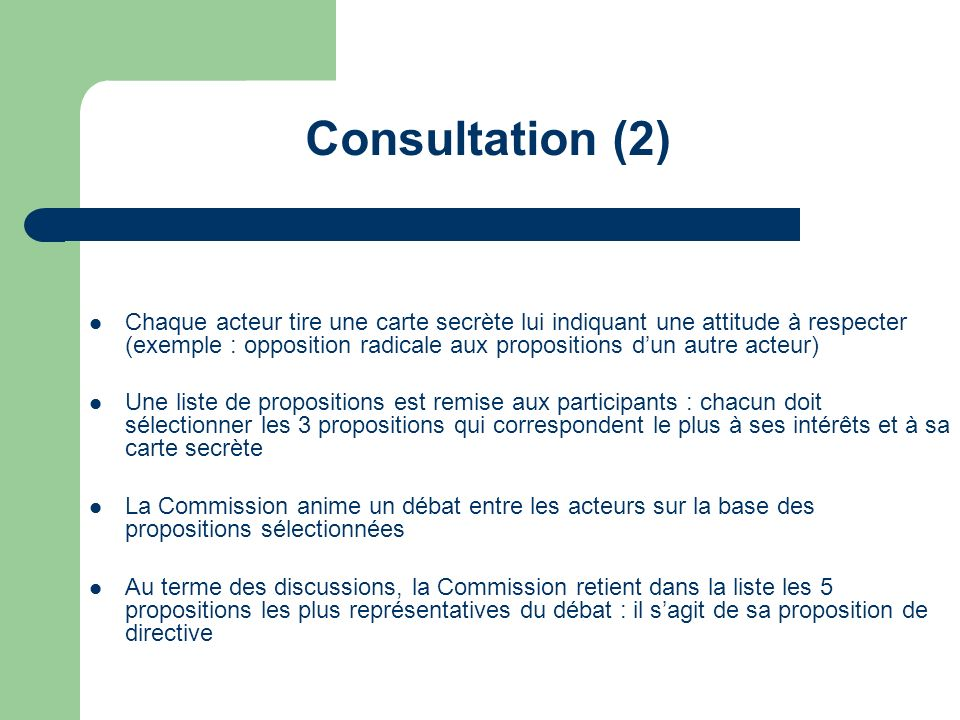Consultation (2)