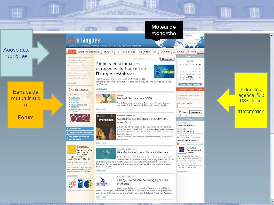 Espace de mutualisation Forum