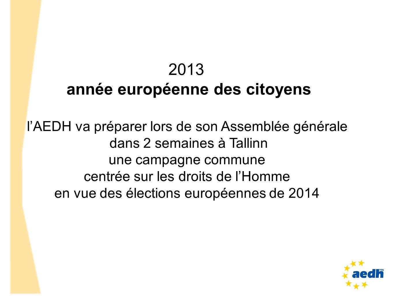 année européenne des citoyens