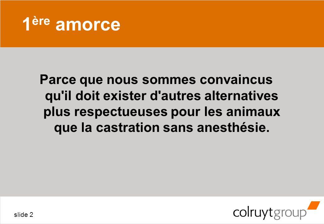 1ère amorceANNEXE 4.