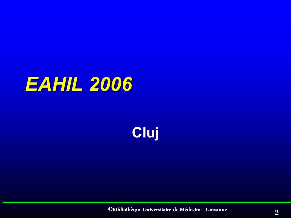 EAHIL 2006 Cluj