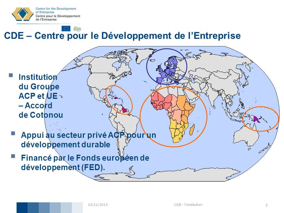 CDE – Centre pour le Développement de l'Entreprise