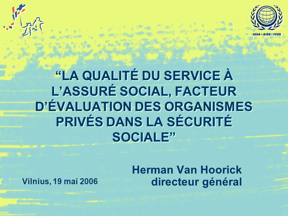 Herman Van Hoorick directeur général