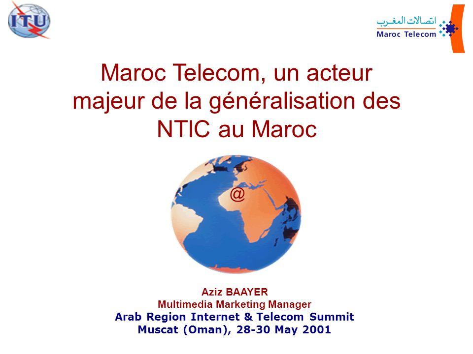 Maroc Telecom, un acteur majeur de la généralisation des NTIC au Maroc