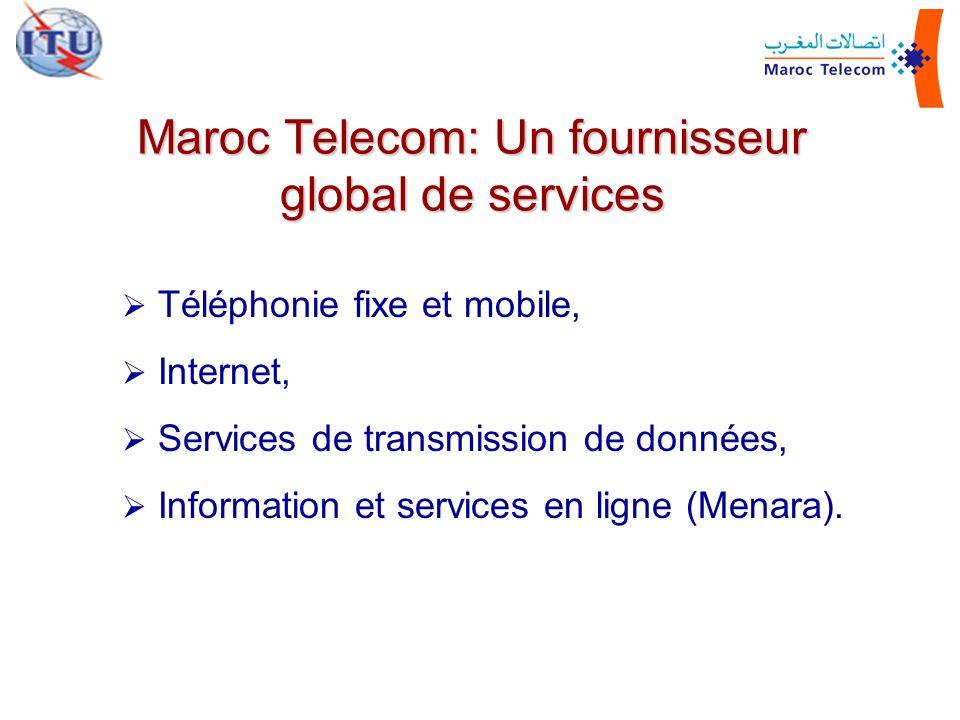 Maroc Telecom: Un fournisseur global de services