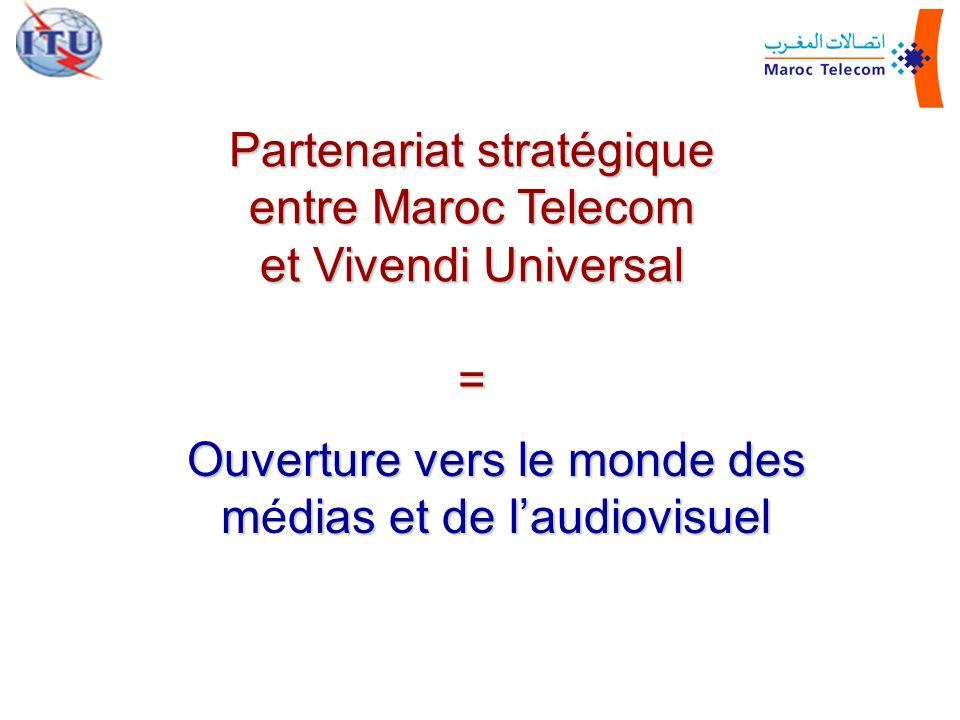 Partenariat stratégique entre Maroc Telecom et Vivendi Universal =