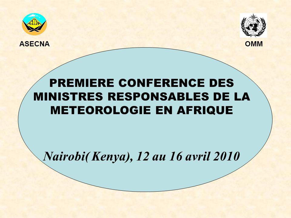 Nairobi( Kenya), 12 au 16 avril 2010